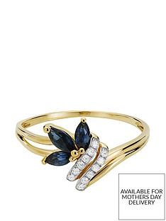 love-gem-9ct-gold-6-point-diamond-marquise-sapphire-ring