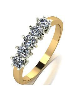 moissanite-9ct-gold-12-carat-eq-moissanite-5-stone-eternity-ring