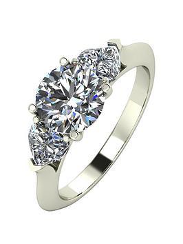 moissanite-9ct-gold-1-carat-eq-moissanite-round-amp-heart-shaped-trilogy-ring