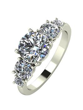 moissanite-9ct-gold-2-carat-eq-moissanite-5-stone-tapered-ring