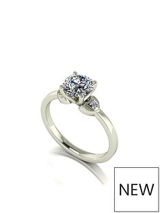 moissanite-9ct-gold-1-carat-eq-moissanite-solitaire-ring-with-heart-set-shoulders