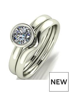 moissanite-9ct-gold-11-carat-eq-moissanite-bridal-set