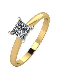 moissanite-18ct-gold-60-point-eq-princess-cut-moissanite-ring