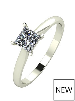 moissanite-18ct-gold-60-point-eq-princess-cut-moissanite-ring