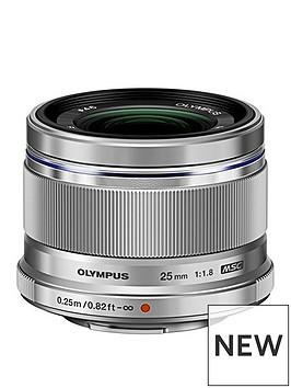 olympus-mzuiko-digital-25mm-118-incl-lens-hood-es-m2518-silver