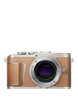 olympus-e-pl9-body-brown
