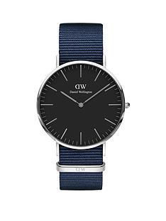 daniel-wellington-daniel-wellington-40mm-black-with-silver-detail-dial-navy-fabric-strap-watch