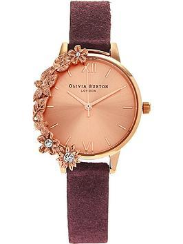 olivia-burton-diamante-case-cuff-watch-burgundy