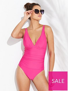 v-by-very-shapewear-essentials-swimsuit-hot-pink