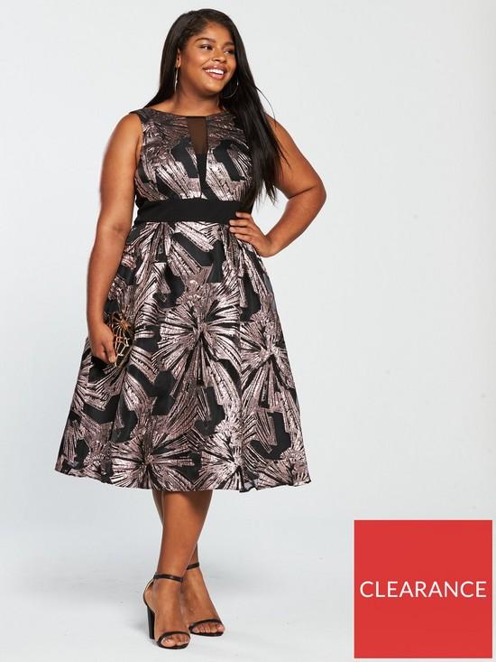 8395324d339 COAST Curve Emele Jacquard Dress - Multi