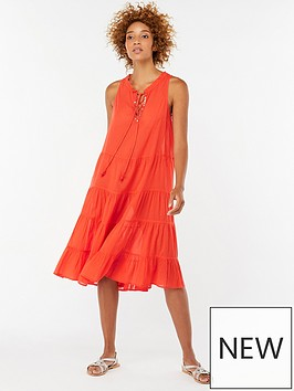 monsoon-mila-beach-tiered-midi-dress-coral