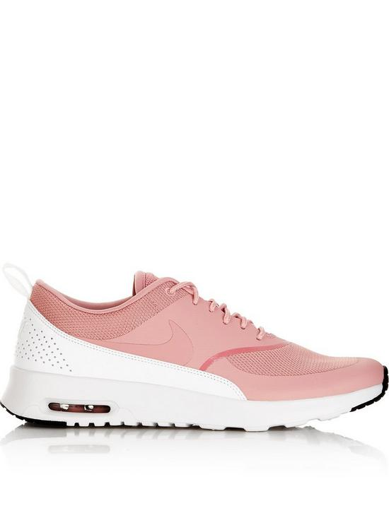 d7d8074a86a7 Nike Air Max Thea Trainers - Salmon Pink
