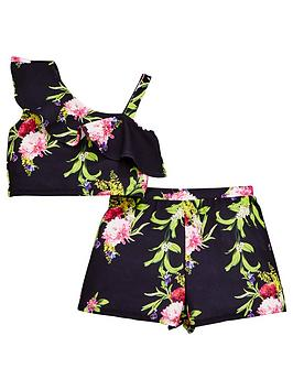 v-by-very-girls-floral-co-ord-outfit--nbspblack