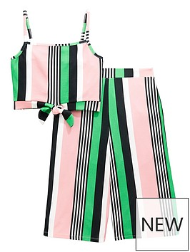 v-by-very-stripe-cullote-co-ord-set