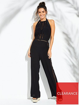 v-by-very-lace-insert-halter-beach-jumpsuit-black