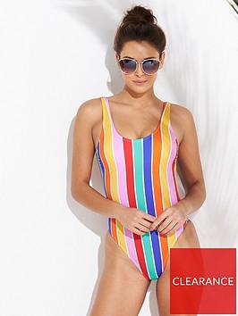 v-by-very-scoop-back-swimsuit-stripe