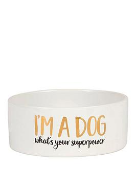 sass-belle-dog-superpower-bowl
