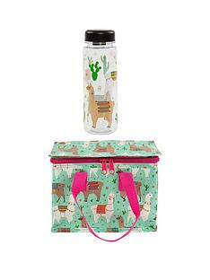 sass-belle-sass-and-belle-llama-lunch-box-and-water-bottle-set