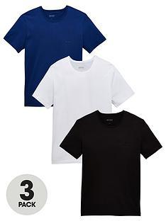 b9a88acb764a4 BOSS Bodywear Core 3 Pack T-Shirt - White/Blue/Black