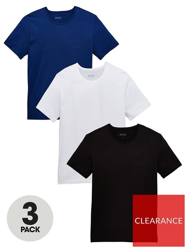 BOSS Mens T-Shirt Pack of 2