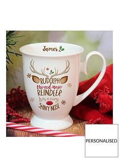 personalised-christmas-mug-rudolph-little-donkey-and-santa-design