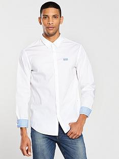 boss-short-sleeve-shirt-white