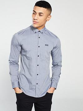boss-long-sleeve-shirt-navy-chambraynbsp
