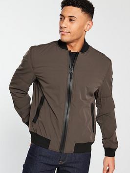 boss-bomber-jacket-khaki