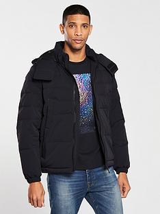 boss-padded-jacket-black