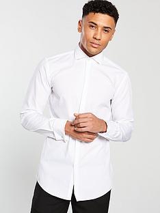 hugo-cotton-long-sleeve-shirt-whitenbsp