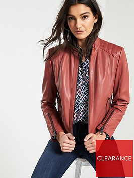 boss-jafable-leather-jacket-rust-copper