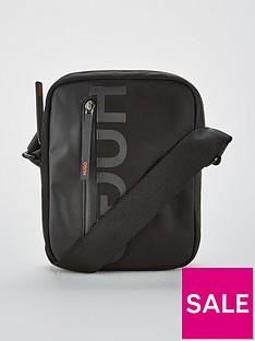 hugo-tech-cross-body-bag-black