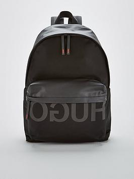 hugo-hugo-tech-backpack-black