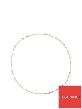the-love-silver-collection-sterling-silver-twisted-chain-necklace