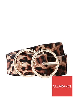 river-island-river-island-double-ring-leopard-print-belt