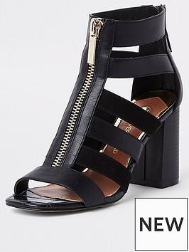 river-island-wide-fit-strappy-block-heel-sandals-black