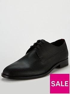 hugo-derby-lace-up-shoe-black