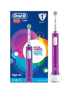 Oral-B Oral-B Junior Electric Rechargeable Toothbrush For Children Aged 6+ in Purple