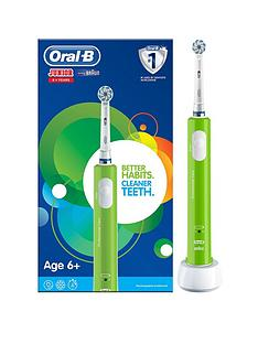 Oral-B Oral-B Junior Electric Rechargeable Toothbrush For Children Aged 6+ in Green