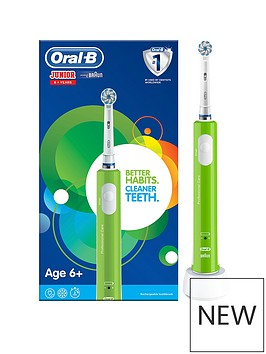 oral-b-oral-b-junior-electric-rechargeable-toothbrush-for-children-aged-6-in-green