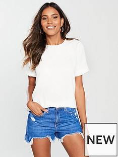 river-island-woven-t-shirt-white