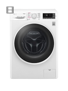 LG Steam F4J6TY0WW 8kg Load,1400 Spin Washing Machine