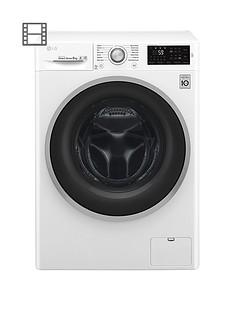 LG F4J6TN1W 8kg Load, 1400 Spin Washing Machine