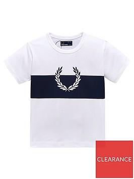 fred-perry-boys-wreath-print-t-shirt-white