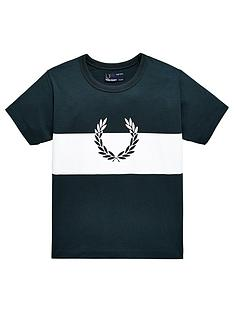 fred-perry-boys-wreath-print-t-shirt