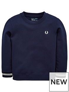 fred-perry-boys-crew-neck-sweatshirt