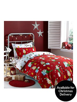 catherine-lansfield-brushed-cotton-elfie-double-bed-in-a-bag
