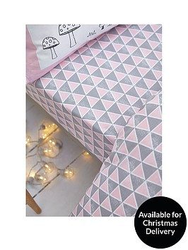 catherine-lansfield-nordic-cotton-print-double-fitted-sheet