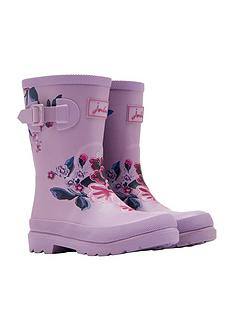 joules-girls-floral-wellies-lilac