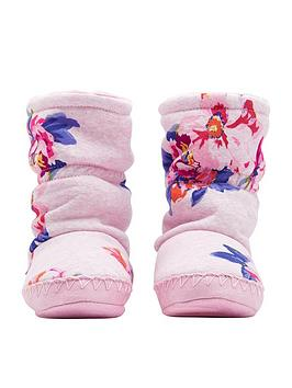 joules-girls-floral-slipper-boot-pink